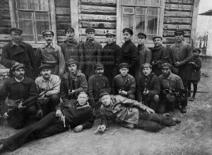 Участники Красной Гвардии 1917-1918 гг.